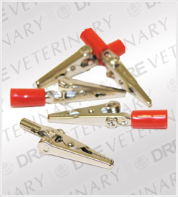 Alligator Clips for ECG Lead Wires - Set of 5