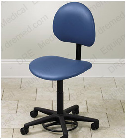 Hands-Free Stool with Back