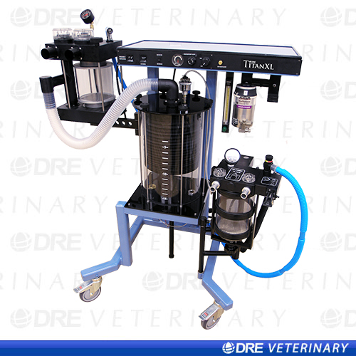 DRE Titan XL Large Animal Anesthesia Machine
