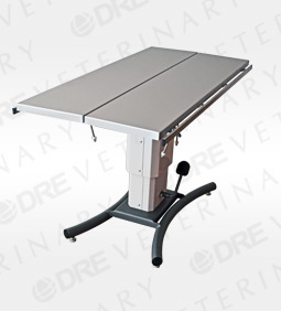 """DRE Edge Heated V-Top Table with Rails - 60"""""""