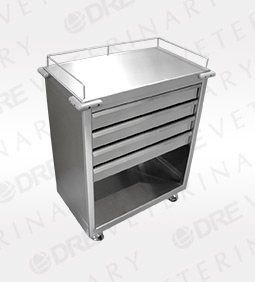 Stainless Steel Crash Cart