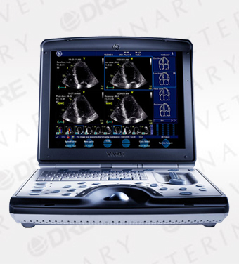 GE Vivid i Portable Cardiac Ultrasound Machine
