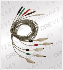 5-Lead ECG Alligator Leadwire Set (for Vet Use)