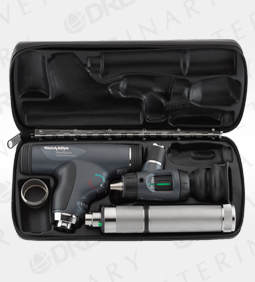 PanOptic Ophthalmoscope, MacroView Otoscope, Lithium Ion Handle, Hard Case