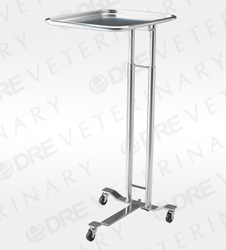 Pedigo 1069 Hand Operated Stainless Steel Mayo Stand
