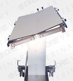 Pannomed Aeron Veterinary Surgical Table: C-Arm Compatible: V-Top with Battery
