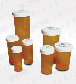 Amber Prescription Safety Cap Vials