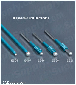 Bovie Disposable Sterile Ball ESU Electrodes