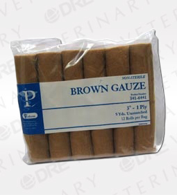 Brown Gauze Rolls