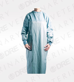 Cloth Reusable Surgical Gown with Panel