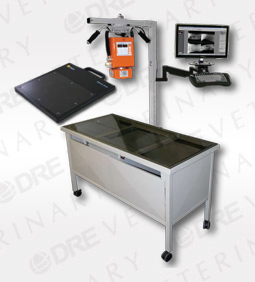 DRE Digital 100 Mobile Table X-Ray System