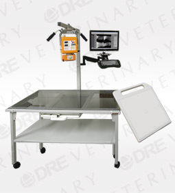 DR 3500 Mobile Table Removable 14x17 Smart Panel Package