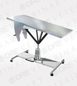 DRE Element Plus Mobile Hydraulic Lift Tilting Top Table