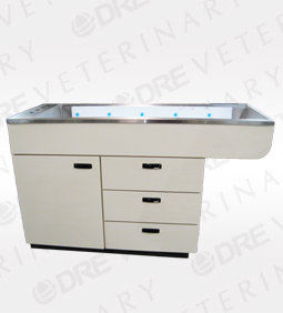"DRE Millwork Cabinet Style 6"" Deep Wet Table with Knee Space"