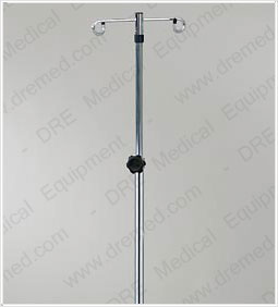 Clinton Heavy Base 2-Hook IV Pole