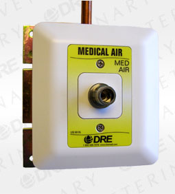DISS Style Console Outlet - Medical Air