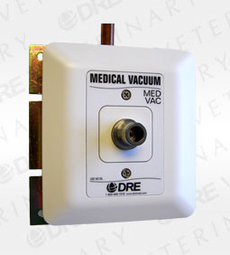 DISS Style Console Outlet - Medical Vaccum