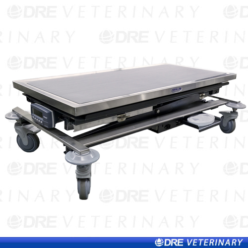 Animal Lift Table With Scale : Mobile animal lift table with canine scale