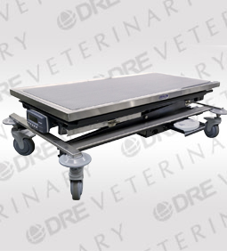 Mobile Animal Lift Table with Canine Scale