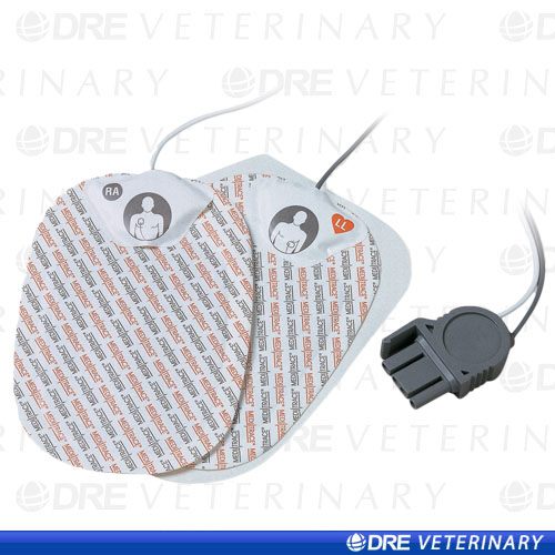 Physio Control Compatible Quick Combo Pacing and Defibrillation Pad w/Quick Combo Connector - Case