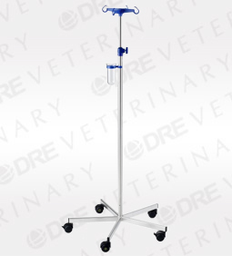 Provita Stainless Steel MRI Compatible I.V. / Drip Stand