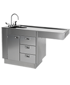 Veterinary Stainless Steel Wet Tables