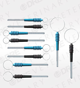 Bovie Disposable Sterile Short Tungsten Loop Electrodes