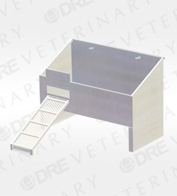 Economy Tub with Removable Ramp - 48""