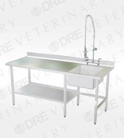 Stainless Steel Prep Area Wet Table