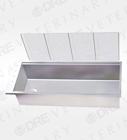 """Stainless Steel 15"""" Deep Wet Table Liner"""