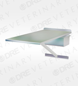 Stainless Steel Classic Wall Mounted Exam Table with Drawer