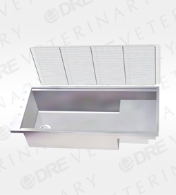 Stainless Steel Bi-Level Wet Table Liner