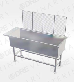 "DRE Stainless Steel 15"" Deep Wet Table"