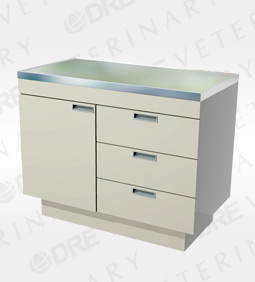 Millwork Cabinet Style Examination Table