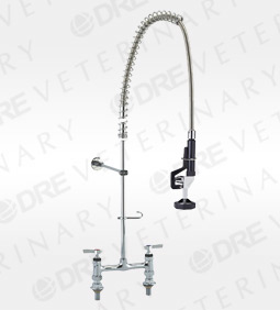 Deck-Mounted Pre-Rinse Sprayer with S/S Covered Hose and 32