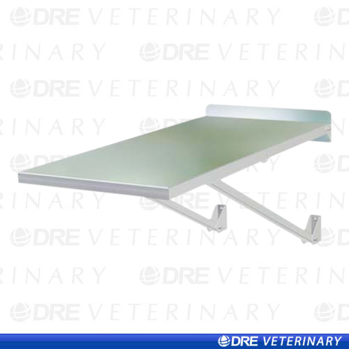 Dre classic fold up wall mounted exam table for Fold up nail table