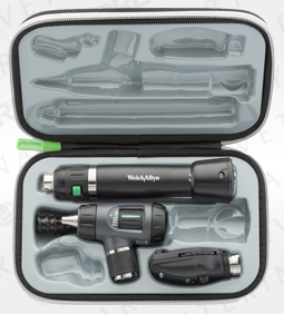 Standard Ophthal, MacroView Oto w/Throat Illuminator, Lithium Ion Handle, Hard Case