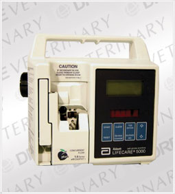 Abbott 5000 Plum Infusion Pump