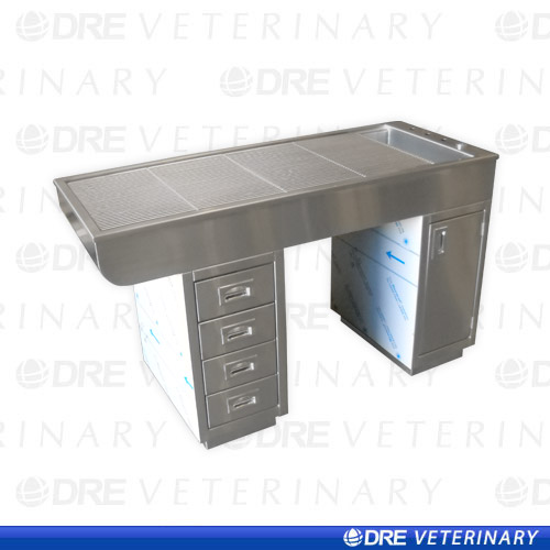 Stainless Steel Sit Through Procedure Table