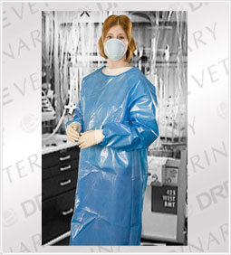 Chemotherapy | Barrier Protection Gowns: Multiple Sizes