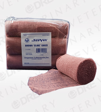 Brown Cling Gauze - Multiple Sizes