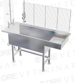 DRE Stainless Steel Economy Bi-Level Wet Table
