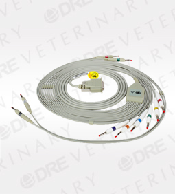 12 Lead ECG Cable for single channel DRE True ECG-1