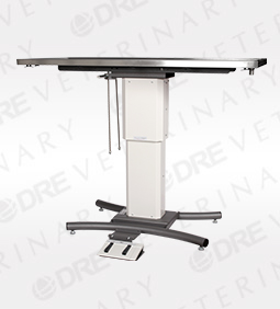 """DRE Edge Flat Top Table with Rails - 60"""""""