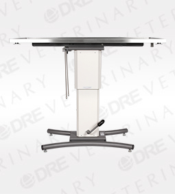 """DRE Edge Heated Flat Top Table with Rails - 60"""""""