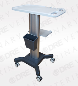 Medical Mobile Cart With Shelf For Portable Ultrasound - 43 inches
