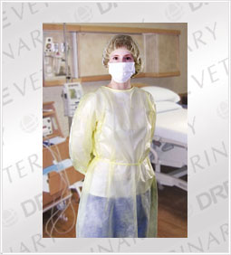 Classic Yellow Isolation Gown (Case)