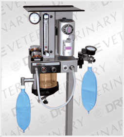 Moduflex Coaxial Veterinary Anesthesia Machine