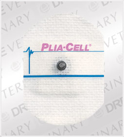 ConMed Adult Cloth ClearSite� Conductive Adhesive ECG Electrodes - Plia-Cell�