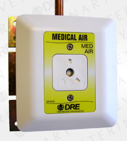 Ohmeda Console Outlet - Medical Air (MA)